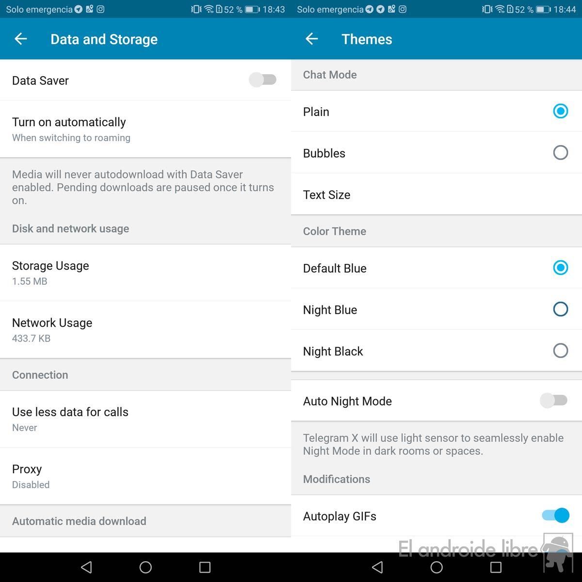 Telegram X, la alternativa oficial que funciona aún más rápido